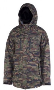 Ride Laurelhurst Jacket Distorted Camo Print