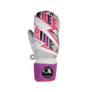 Freerider DT Mitten White/pink