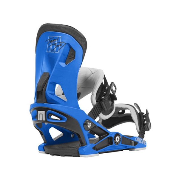Now Jeremy Jones blue bindings