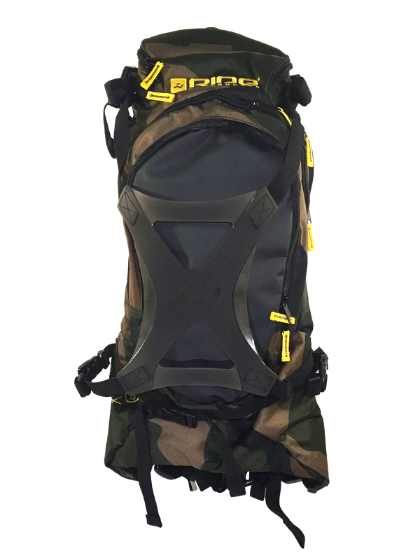 BACKPA Ride Camo Backcountry hatizsak