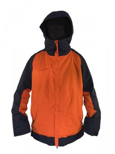 JACKET Ride Gatewood black-orange snowboard kabat 1