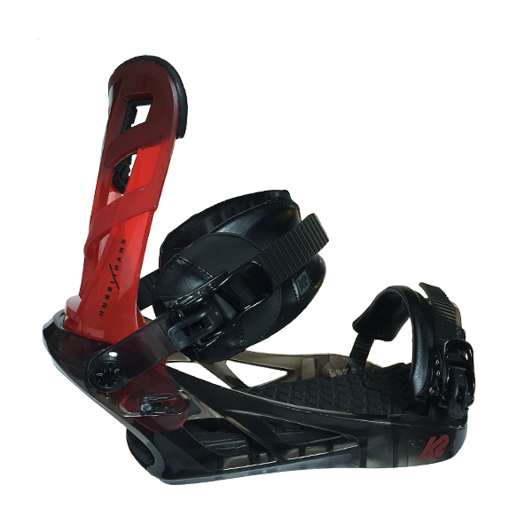 K2 HurriKhane Red-Black Bindings