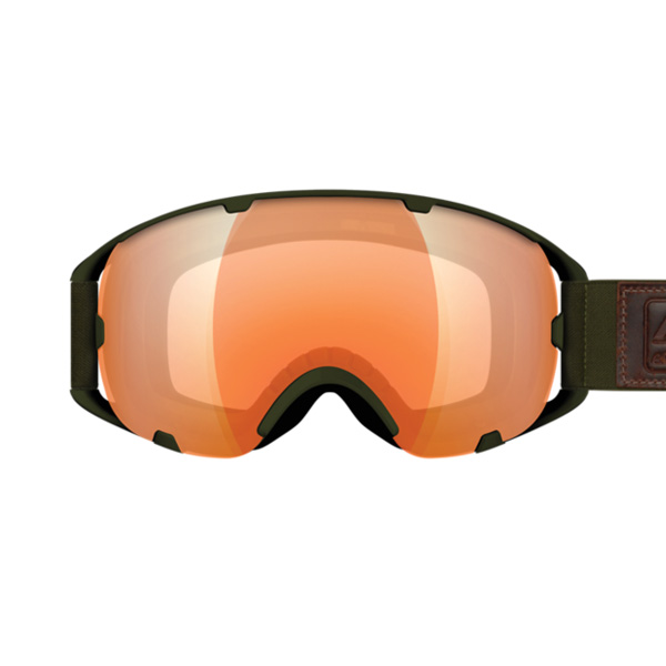 K2 Sources Amber Falsh green Goggles