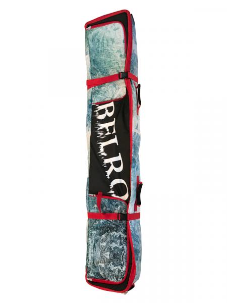 Belro gurulos dupla snowboardzsak
