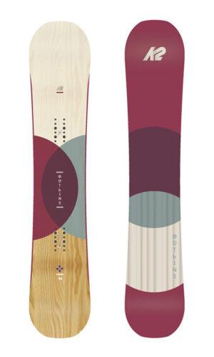 K2 outline 146,149 női snowboard tesztlap 140000 helyett 799000