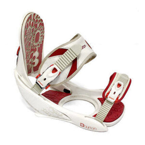Burton Red_white binding