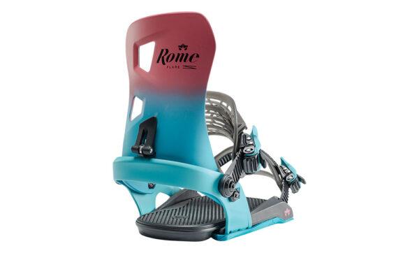 Rome Flare Berry női snowboardkötés