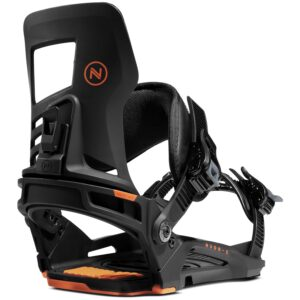 nidecker muon-x black orange snowboard kötés